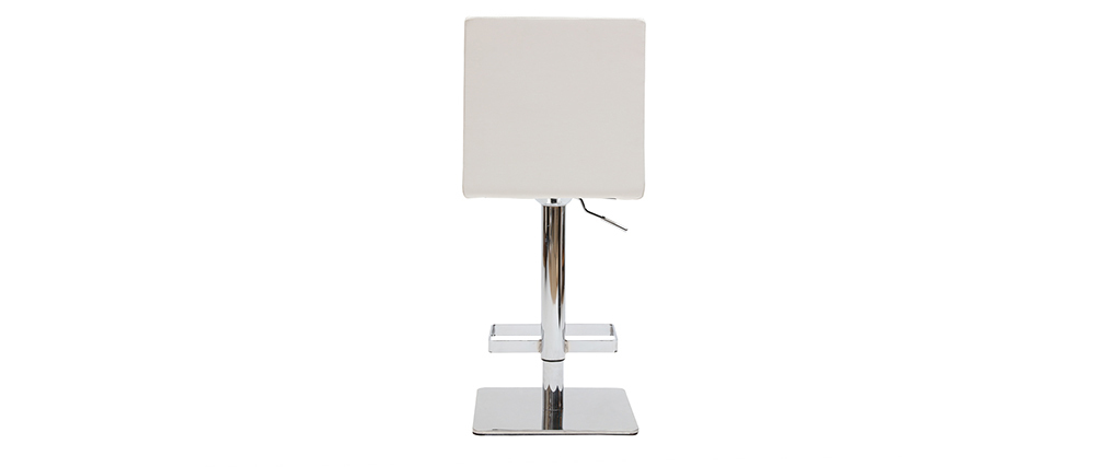 Tabouret de bar design blanc COLOMBUS
