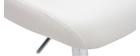 Tabouret de bar design blanc contemporain NEPTUNE