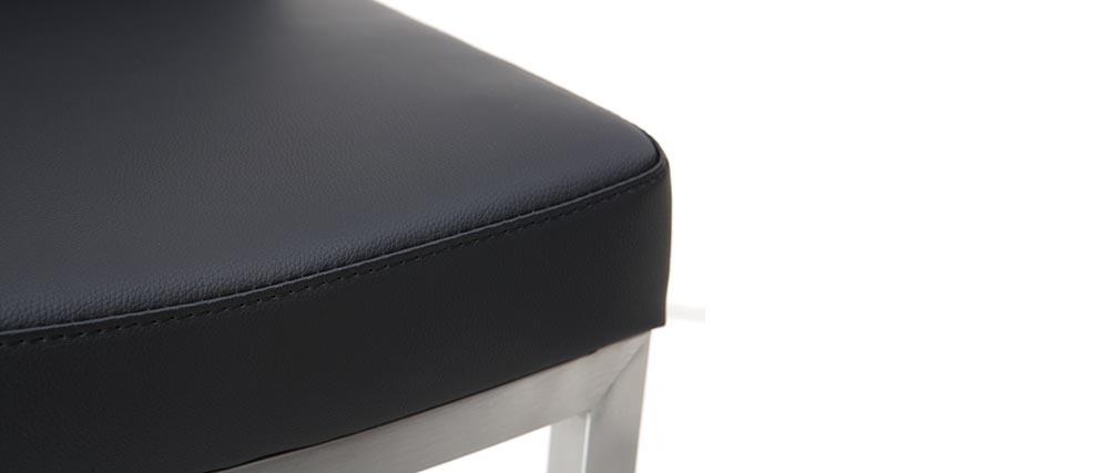 Tabouret de bar design noir KYLE