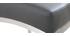 Tabourets de bar design gris foncé H70 cm (lot de 2) OLLY