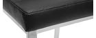 Tabourets de bar design noirs 66 cm (lot de 2) TOMY