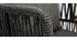 Tabourets de bar d'extérieur tressés gris 76 cm (lot de 2) NALA