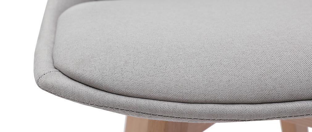 Tabourets de bar scandinaves gris clair 65 cm (lot de 2) MATILDE - Miliboo & Stéphane Plaza