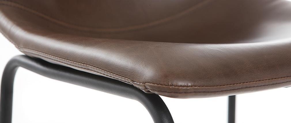 Tabourets de bar vintage marron 73 cm (lot de 2) NEW ROCK