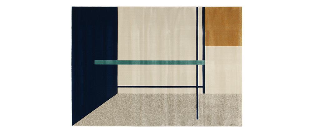 Tapis à motifs multicolore 160x230cm  MONDRIAN