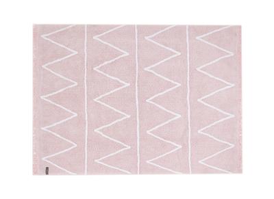 Tapis coton 120x160cm rose ALISHIA