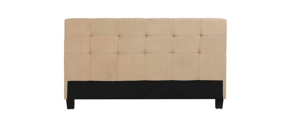 Tête de lit beige pour lits 168 cm MARQUISE