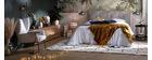 Tête de lit tissu gris clair 170 cm SUKA